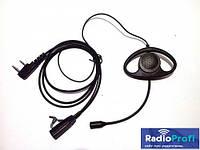 №07 Гарнитура для рации с большим динамиком микрофон на штанге