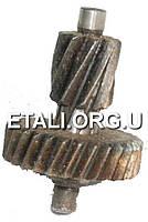 Шестерня дрели G29 d25,5 28  //  9 зуб право вал-шестерня Блок 1036