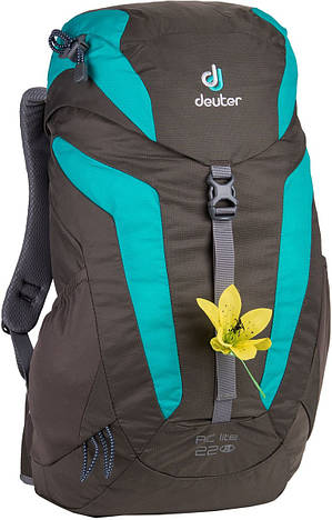 Рюкзак туристический женский Deuter AC Lite 22 SL stone/mint (3420216 4214)