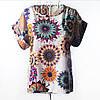 Блузка туника женская Абстракция2