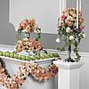 Оформление квартиры живыми цветами