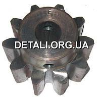 Шестерня бетономешалки 5 (15*55 h40, 10 зубов)