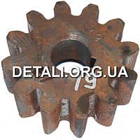 Шестерня бетономешалки 19 (20*69 h27, 12 зубов)