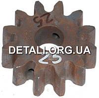 Шестерня бетономешалки 25 (20*67 h23.5, 12 зубов)