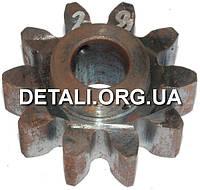 Шестерня бетономешалки 28 (19*64 h29, 10 зубов)