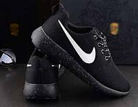 Кроссовки Nike Roshe Run black 35-36