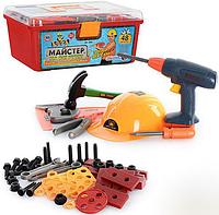 Детский набор инструментов из 48 деталей в ящике Metr+ 2056 КК, HN