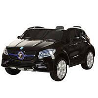 Детский электромобиль 2-х местный JJ 609 EBR: EVA-колеса, 2.4G, 8 км/ч-Черный- купить оптом