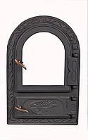 Чугунная каминная дверца - VVK 33x50,5см-25x42см