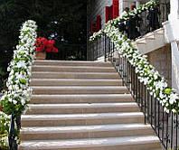 Оформление подъезда живыми цветами, фото 1