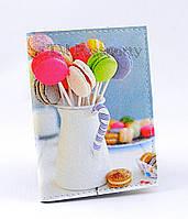 """Обложка для визиток и кредиток """"Macarons"""""""