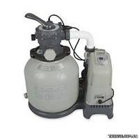 Intex Система соленой воды + фильтр-насос грубой очистки 28678 220-240V выход хлора 7 грамм/час