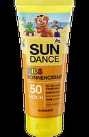 Детский солнцезащитный крем SUNDANCE KIDS Sonnencreme LSF 50