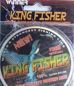 Леска рыболовная «Winner Kingfisher » 0,18 оригинал (уп.10) - Electrichouse в Харькове