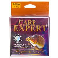 Леска рыболовная Kaida Carp Expert 300 м 0.35 радуга
