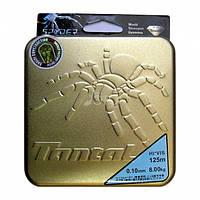 Шнур рыболовный( нитка плетенка)DYNEEMA Spyder Tantal 0.12мм 125 м 9.4кг