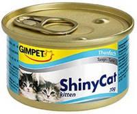 Gimpet ShinyCat Kitten с тунцом 70 гр.*2шт.