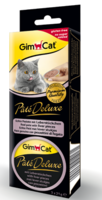 Gimcat Pate Deluxe паштет с кусочками печени 21 гр.*3 шт