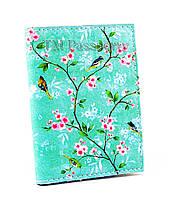 """Обложка для визиток и кредиток """"Цветочный принт"""""""