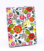 """Обложка для визиток и кредиток """"Яркие цветы"""""""