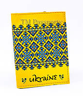 """Обложка для визиток и кредиток """"Украинский стиль"""""""