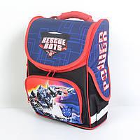 Школьный рюкзак с ортопедической спинкой (для мальчика) - 87-1146