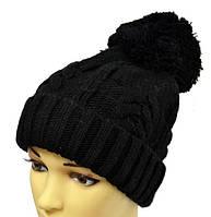 Черная женская шапка