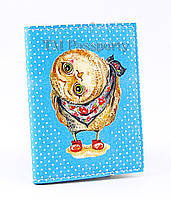 "Обложка для визиток и кредиток ""Сова"""