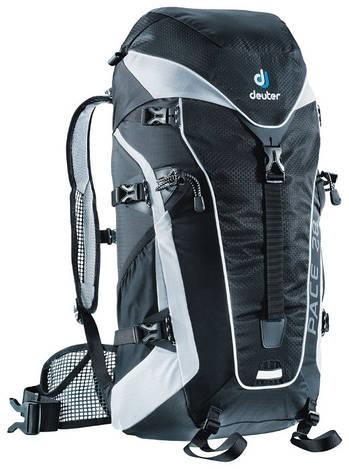 Рюкзак туристический женский Deuter Pace 28 SL black/white (33610 7130)