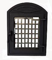 Чугунная каминная дверца  - VVK 35x46 см-27x33см