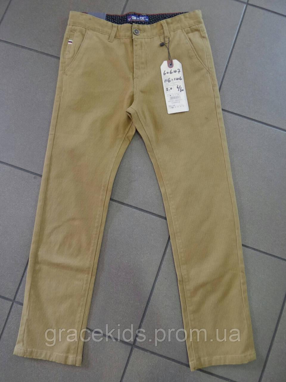 Детские котоновые брюки GRACE