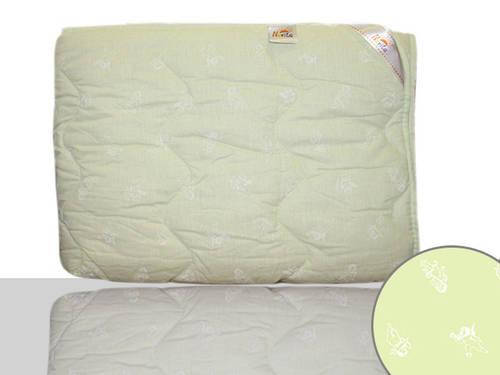 Одеяло шерстяное двуспальное (оливковое)