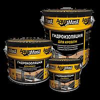 Мастика Битумная  AquaMast Кровля 10 кг
