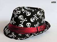 Шляпа Черепа для мальчика. 52 см