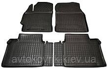 Поліуретанові килимки в салон Toyota Corolla XI (E160/170) 2013- (AVTO-GUMM)