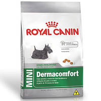 Корм Royal Canin Mini Dermacomfort 800г Роял Канин для собак мелких пород склонных к раздражению и зуду кожи