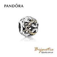 Pandora шарм  НАВСЕГДА И НАВЕКИ С СЕМЬЕЙ 791525CZ серебро 925 Пандора оригинал