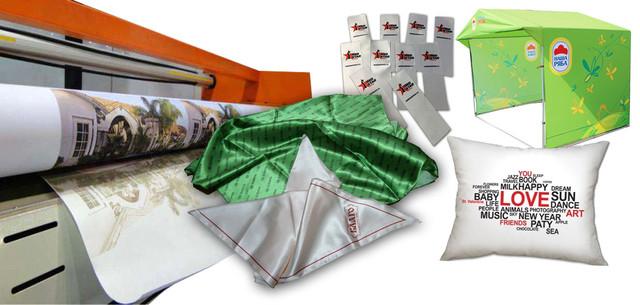 Сублимационная печать на ткани, печть флагов, печать вымпелов, печать платков