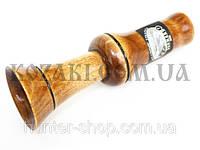 Манок духовой на утку-гуся деревянный Эхо №7 универсальный