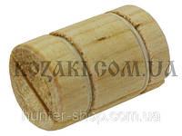 Манок духовой на лису деревянный Дуэт бочонок (писк мыши)