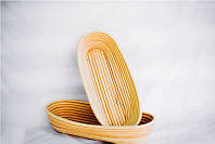 Корзины для расстойки теста из ротанга овальной формы 0,5 кг