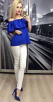 Кофта женская, синяя
