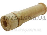 Манок духовой на лису, волка деревянный Дуэт (раненый заяц)