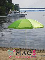 """Пляжный зонт с наклоном 1.8 м - """"MAGs"""" Anti-UV салатовый"""