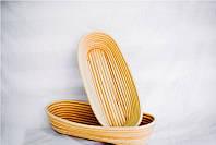 Корзины для расстойки теста из ротанга овальной формы 1,250-1,5 кг