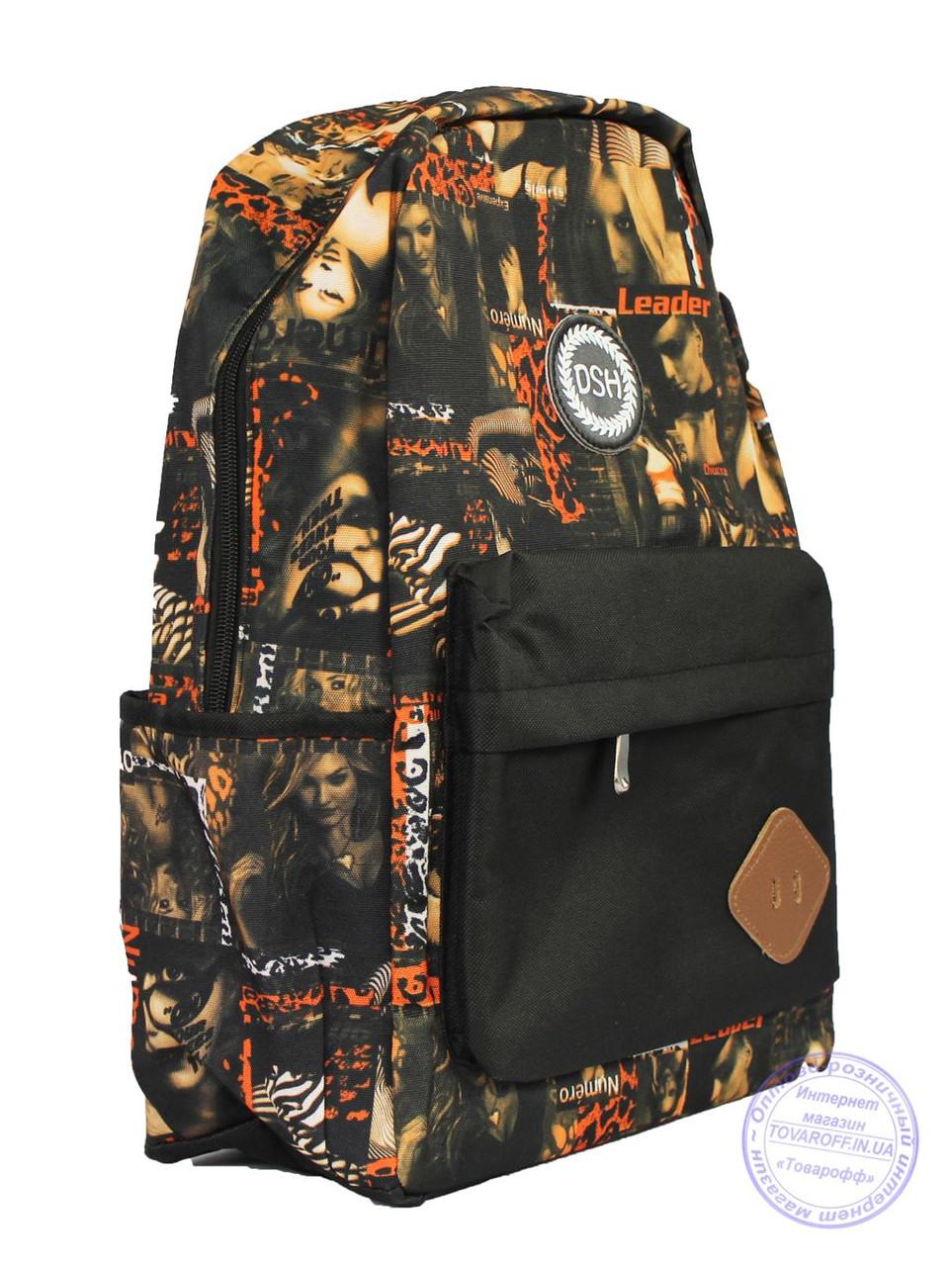 Рюкзак з фото принтом для дівчаток 503-5