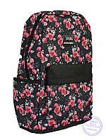 Рюкзак с розочками для девочек 501-1, фото 1