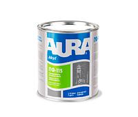 Эмаль алкидная AURA ПФ-115 универсальная, белая матовая, 0,9кг