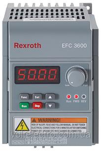 Перетворювач частоти Bosch Rexroth EFC3600 0.75 кВт 380В