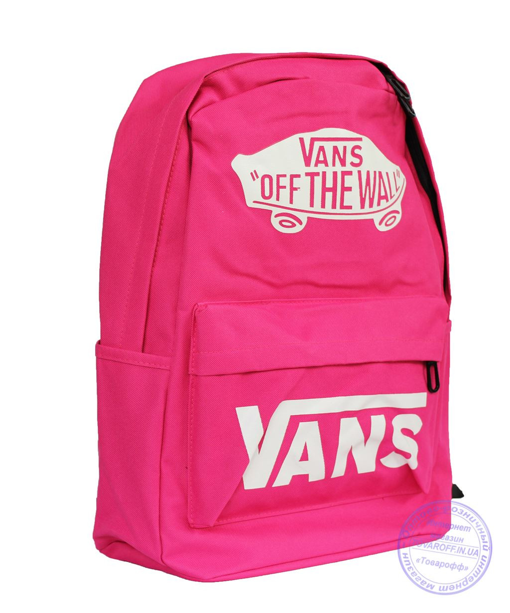 Рюкзак Vans - розовый - 7616